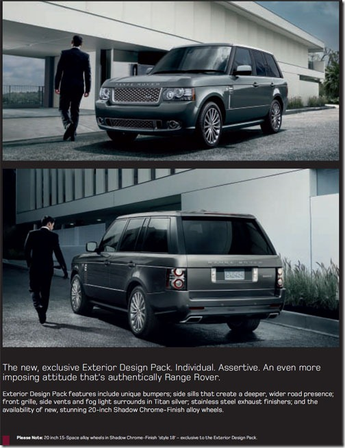 Range Rover Exterior Design Pack