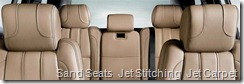 Sand Seats  Jet Stitching  Jet Carpet
