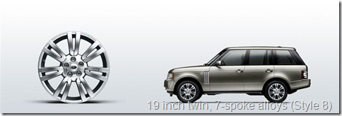 The Range Rover 19 inch twin, 7-spoke alloys (Style 8)