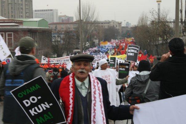 Tekel İşçileriyle Dayanışma Eylemi-Ankara