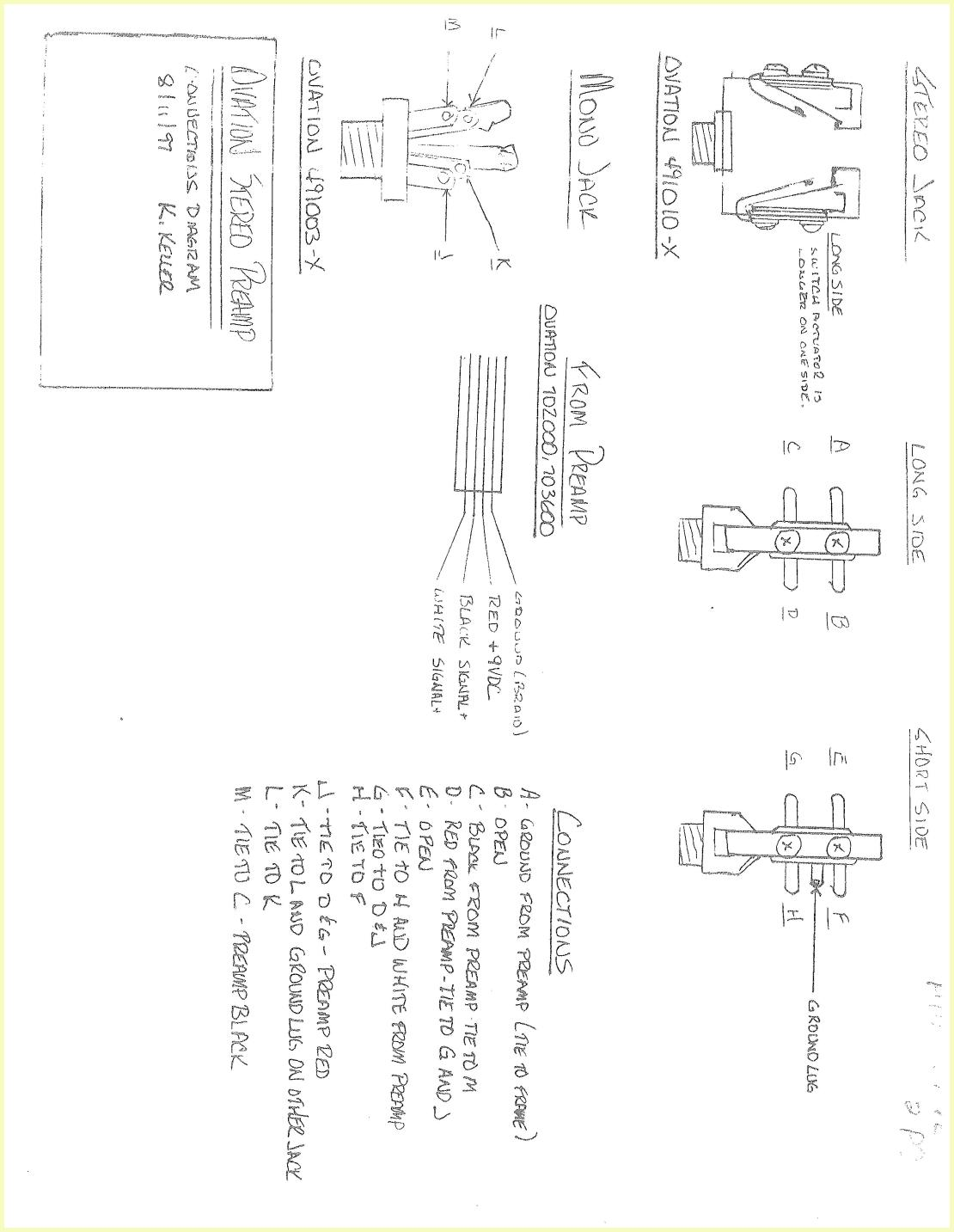 Stereo Headphone Jack Schematic