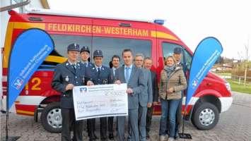 5000 Euro für die Feuerwehr   Region Bad Aibling