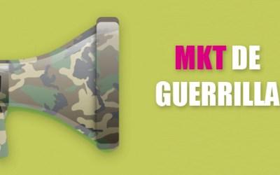 Marketing de Guerrilla: ingenio y creatividad