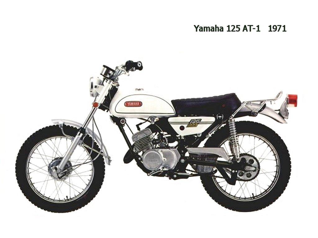 Yamaha 125 At1