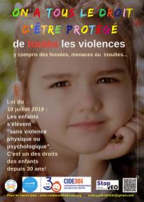 Affiche On a tous des droits (enfants) – Il existe plusieurs versions