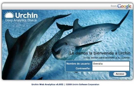 Nueva versión Urchin Web Analytics v6.602