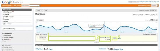 Google Analytics - Crear notas 2