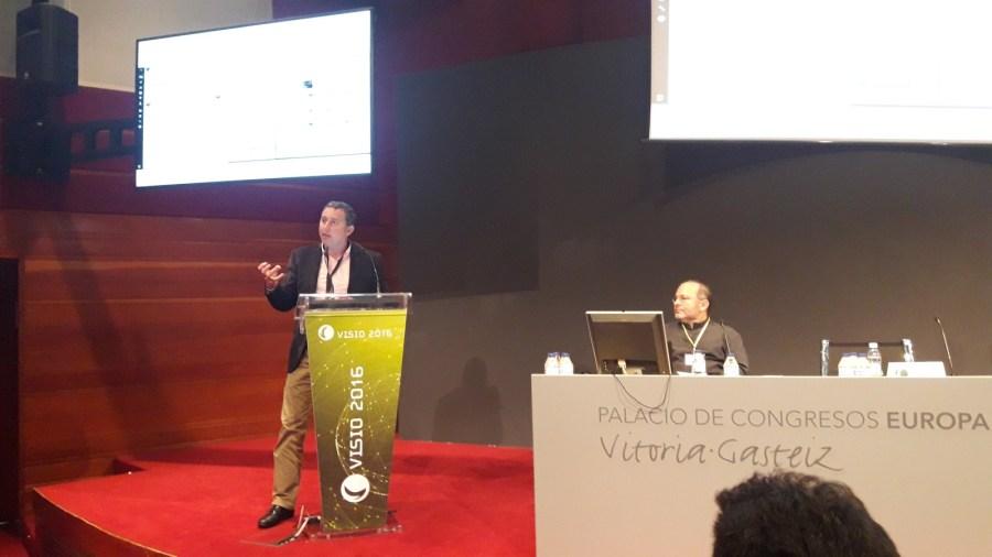 Guillermo Vilarroig en la conferencia Visio sobre inteligencia competitiva