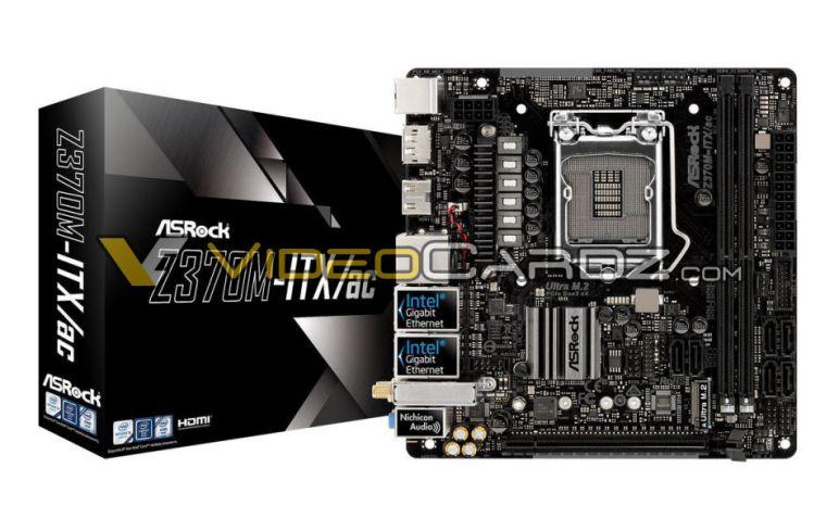 Six AsRock Z370 motherboards have been revealed