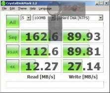 Asus Crystal Disk Mark (slow)