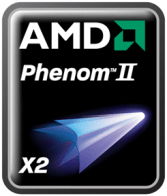 Phenom II Logo (picture courtesy AMD)