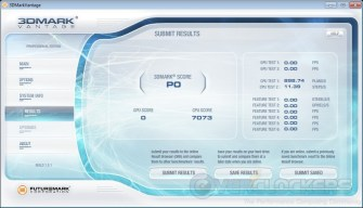 3DMark Vantage at 4133 MHz