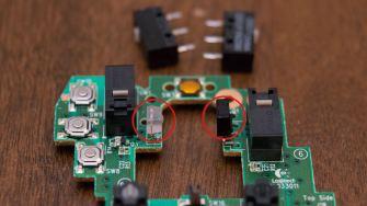 Scroll wheel sensors