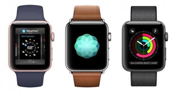 Водонепронецаемый Apple Watch: Series 2 будет стоить $369