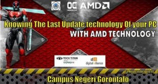 OVERCLOCKING INDONESIA GO TO CAMPUS NEGERI GORONTALO, 13 NOPEMBER 2014