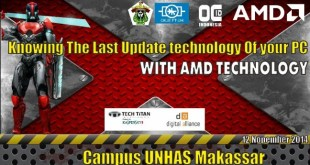 OVERCLOCKING INDONESIA GO TO CAMPUS UNHAS MAKASSAR 12 NOPEMBER 2014
