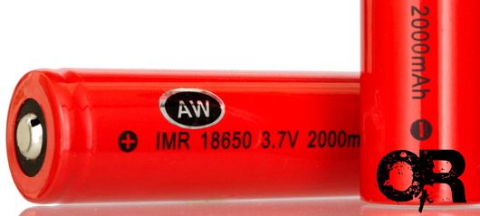 AW IMR 18650 Battery