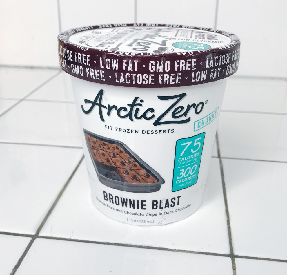 arctic zero brownies