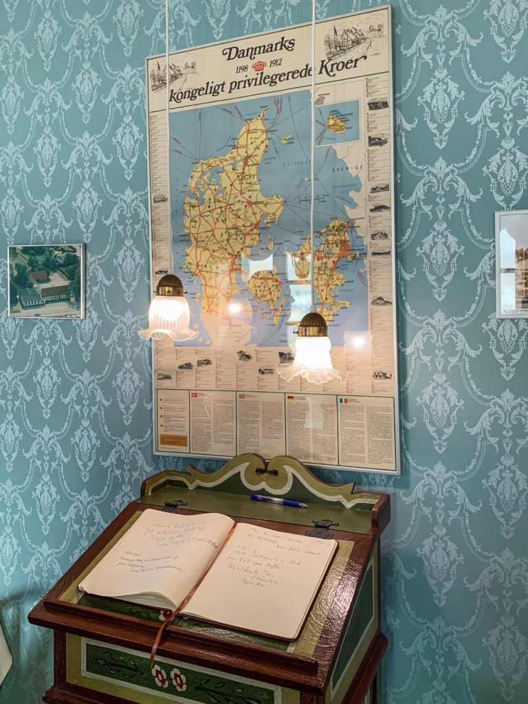 foodie's guide to Denmark: danish map