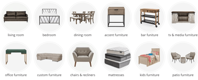 JCPenney Furniture Cyber Monday deals