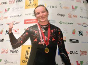 Nicole Voet, Singel Swim 2017, FSHD dystrofie