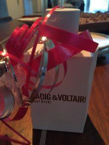 Luchtje, Parfum, Zadig en Voltaire, Kerstcadeau, onder de boom, blog overhaar, adventkalender