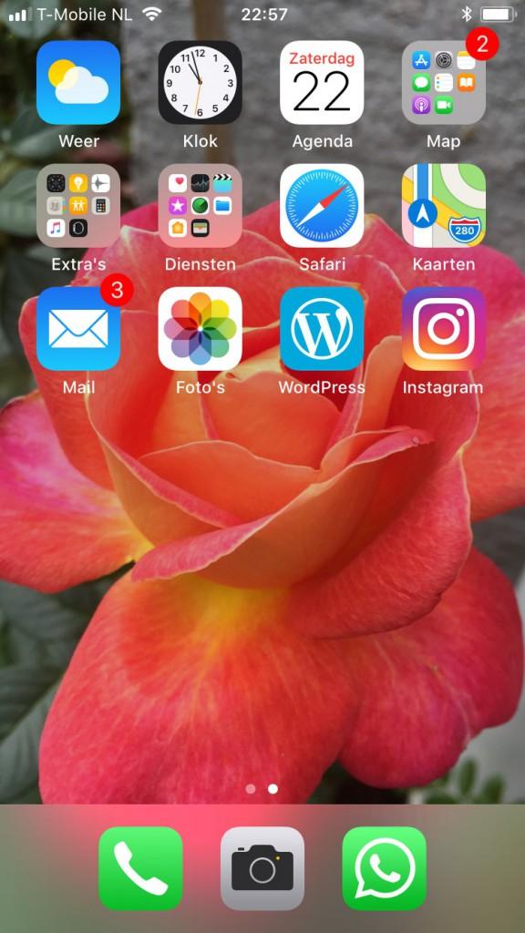 iphone scherm vast, blog oevrehaar, ANWB 135 jaar, lotnummer is lidnummer