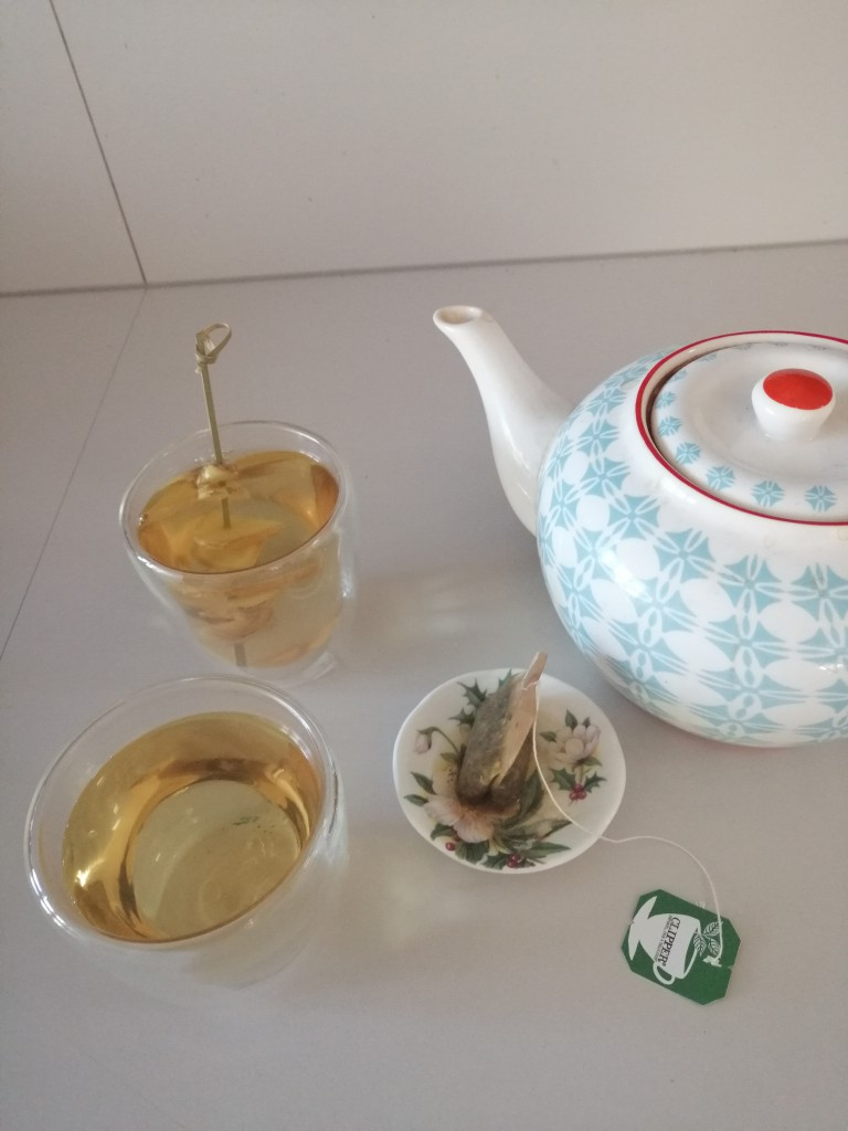 Koppie hete thee
