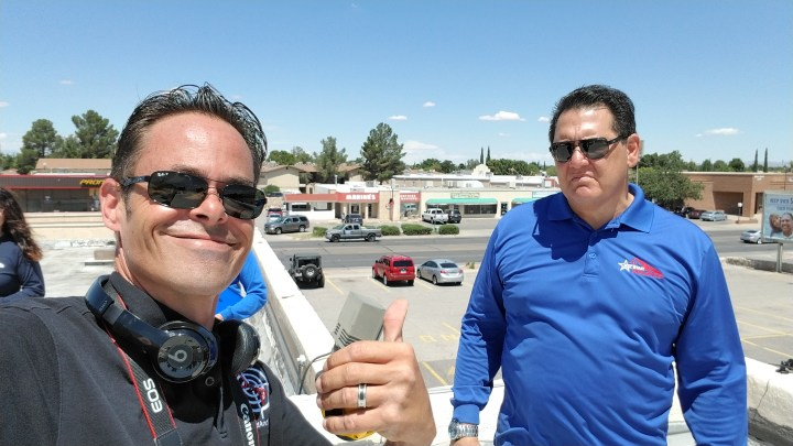 Hail Damage to 350 SQ Flat Roof – El Paso, TX