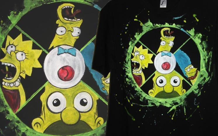 The Simpsons t'shirt for Vlad