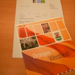 De brochures met begeleidende brief