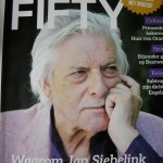 Omslag van Fifty Fifty met Jan Siebelink