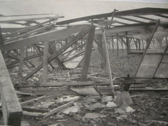 Een volkomen vernield warenhuis