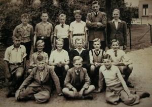 De vijfde en zesde klas van de Petrusschool in Holselersdijk.