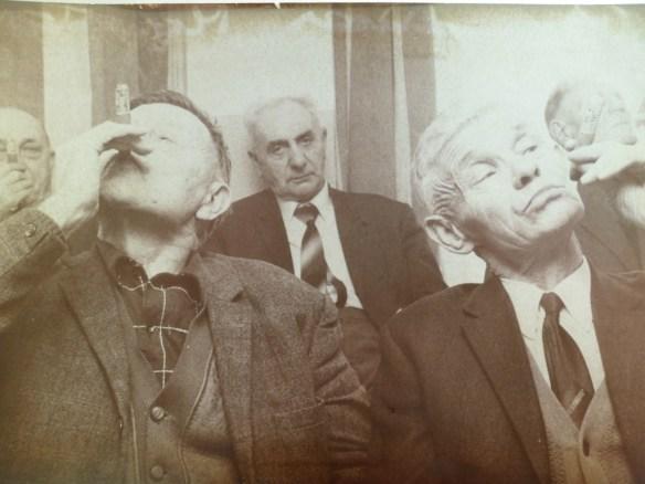 Links de heer Hofstede, rechts Voogt.