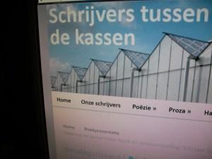 De Westlandse schrijvers hebben een eigen website, www.schrijvers-tussen-de-kassen.nl