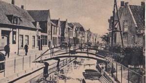 De Herenstraat in Wateeringen tachtig jaar geleden.