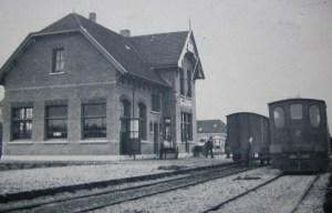 Het station waar Bram Jonker elke dag de tram nam naar Den Haag