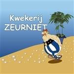Het logo van kwekerij Zeurniet