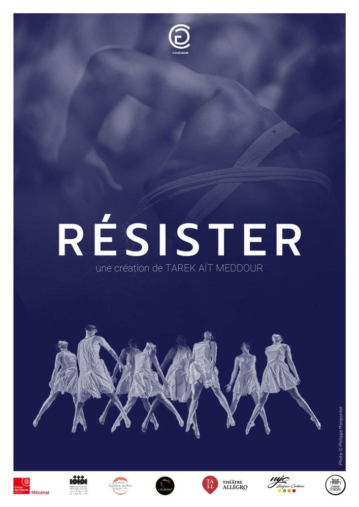 RÉSISTER, Cie Colégram © Philippe Monpontet - Tous droits réservés