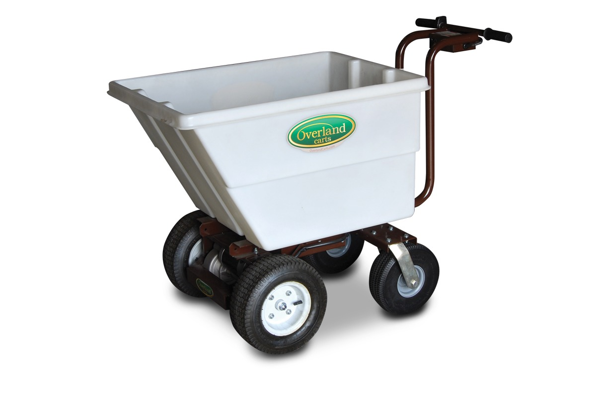 Motorized garden cart for Motorized wagon for sale