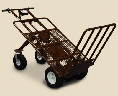 Overland cart 39 s big autumn sale overland carts for Motorized hand truck dolly