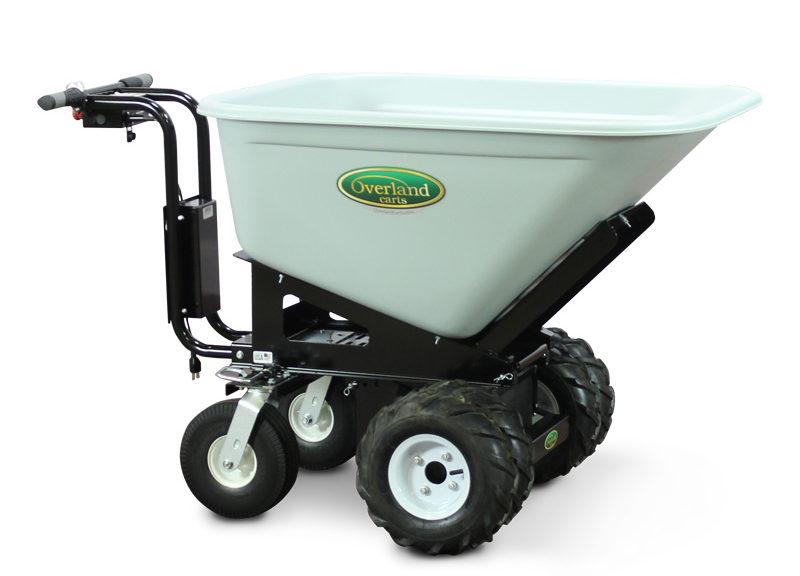 10 Cubic Foot Electric Wheelbarrow Overland Carts