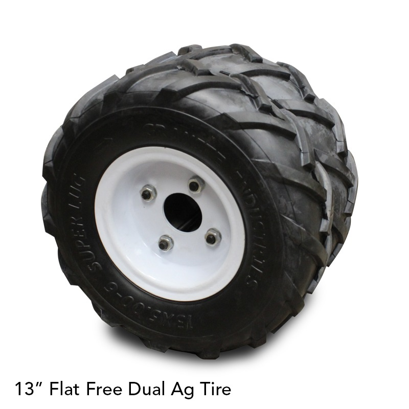 Tire - Flat Free Dual Ag