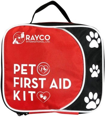 Pet first aid kit for camping