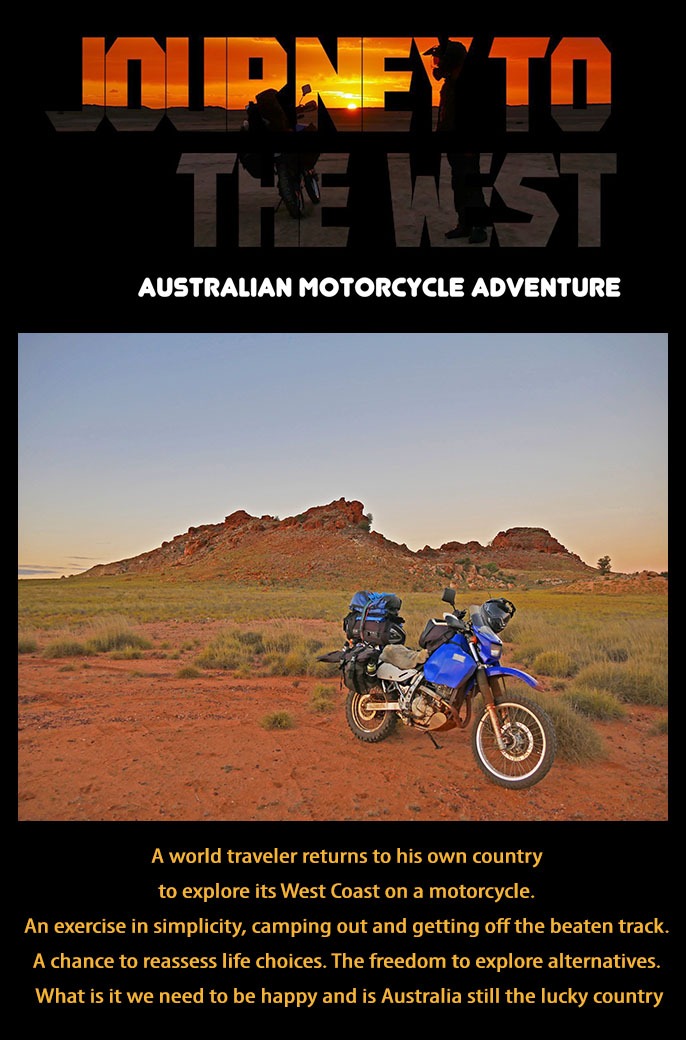 Australian Motorcycle Adventure Film now available