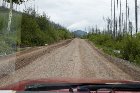 One of the nicer Dirt Roads