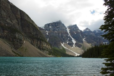 Moraine Lake in July