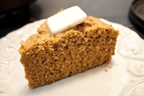 Cook-Off Part 2: Pumpkin Cornbread (GF)