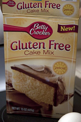 Betty Crocker makes GF Cake Mix!